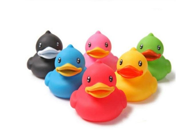 rubber duck production...