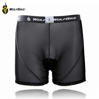 WOLFBIKE New Sports Black Red Style Cycling Underwear Gel 3D Padded MTB Bike Bicycle Shorts Clothing  bermuda ciclismo S-3XL