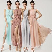 Fashion Women Beach Bohemian Chiffon Chic Ball Party Evening Long Dress