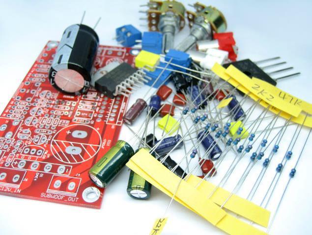 Frete grátis ! 2.1 TDA7377 amplificador placa amplificador subwoofer de três canais ( KITS DIY) 5532 pré-amplificador(China (Mainland))