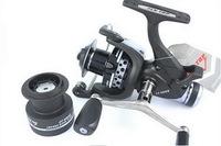 Metal Fishing Reel Rear Drag Spinning Reel Two-thread Cup Baitrunner,carp Reels 10BB 4000 Series Free Shipping