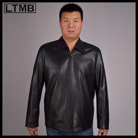 LTMB   Men's  genuine leather jacket Sheep skin leather coat for men