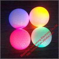 Sporting Goods Clamshell Rubber LED Flashing Golf Ball