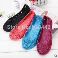 Supernova Sales New 2014 Feshion summer breathable women shoes Designer jelly sandals nest mesh flats for women