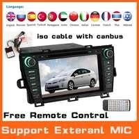 Car Radio Stereo Audio Dvd Automotivo Player For Toyota Prius 2009-2013 GPS Navi Navigation System Car Pc Head Unit Autoradio