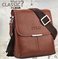 Free shipping Fashion 2014  men messenger bags polo ,genuine leather men handbags, desigual men's bags business bag