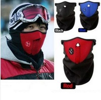 Free Shipping Warm Half Face Ski Mask Winter Veil Bicycle Cycling&Snowboard Sport Masks Pollution Mask Wholesale