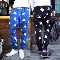 2014 hip hop mens sport pants outdoor loose sweatpants baggy pants harem drop crotch pants academia calca moletom masculina men