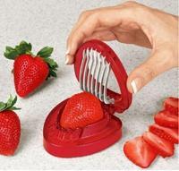 Free shipping 2014 Hot sale new Kitchen gadgets strawberry slicer kitchen supplies  0187