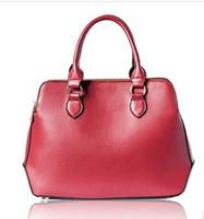 New arrived Lady leather tote handbag business messager shoulder bag