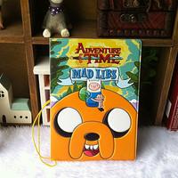 2014 new fashion Adventure clown (Adventure time) passport holder cover passport case Travel Accessories cover for passport