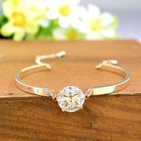 2014 Wholesale Brand New Top grade Gold Bracelet Women Good Quality Free shipping