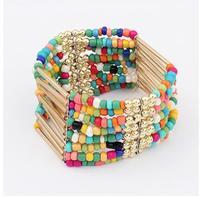 Multi element fashion national wind beaded bracelet S5530