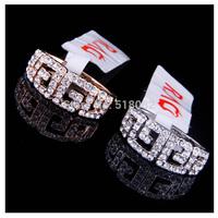 New 18k rose gold/platinum plated G style high quality brand rhinestone Geometric vintage fashion finger ring (UVOGUE VR00040)