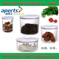 Vacuum packing container for food storage food saving packer plastic jar