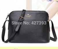 2014 new fashion leather women shell messenger bag cross small bags women's bag shoulder bag   fashion women's handbag