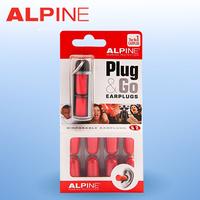 (5pairs / lot) Alpine hearing protection noise reduction ear plugs sleeping ear plugs sound insulation earplugs foam earplugs