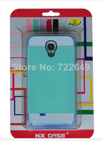 Double Colorful Korean NX Silicone Plastic Detachable Back SLIM armor Cover Case for Samsung Galaxy S4 mini i9500