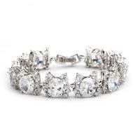 Allure hetero sexual  AAA zircon bracelet  2014  classic elegant luxury crystal bracelets for women