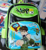 FREE SHIPPING/Hot Selling Cartoon Ben 10 Children Schoolbag Boy Cartoon Bag.Kids School Bag SHD-908