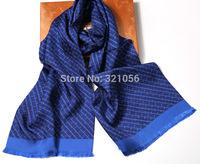 Print Men long silk scarf High quality silk scarf mulberry silk shawl