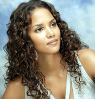 Halle Berry dark brown loose curl Peruvian lace wig human color lace front wigs full lace human deep curls hair wigs