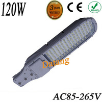 Free shipping by FEDEX 2pieces/lot 120W led street light led grow light led sreet lamp AC85V-265V Warranty 3 years