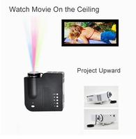 The projector cheapest cost price LED mini video projecteurs proiettore projektor projektori portable entertainment games gift