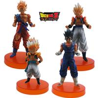 Anime 4x Dragonball Z Gokou PVC Figure Set Brand New Wholesale Toys Action Figures