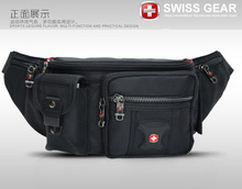 new 2014 genuine Swiss army knife men messenger bag waist pack men multi-layer casual sports bag chest pack men waist bag men(China (Mainland))