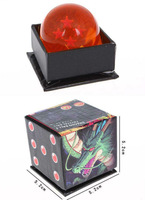 Dragon Ball Z 4 Star Crystal Ball Supper Cool Toys Free shipping