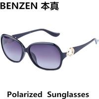 2014 New  Women Polarized Sunglasses Fashion woman Sun glasses UV 400 Retro shades oculos with case black  1012A
