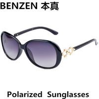 2014 New  Women Polarized Sunglasses Fashion woman Sun glasses UV 400 Woman shades oculos with case black  1014A