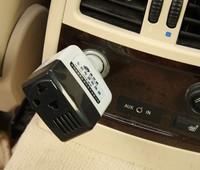 Freeshipping Portable DC12V to AC220V power inverter,24v to 220v power adapter USB 5V Mobile Power Converter on Car Wholesale