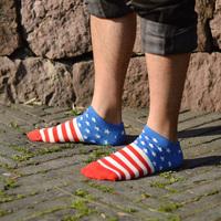 The flag shall cotton socks