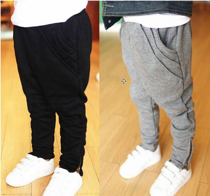 Printemps et automne enfants casual pantalons en coton enfant garcon fille sarouel pied, pantalons,'pantalon xs788 sous les vêtements de sport enfant