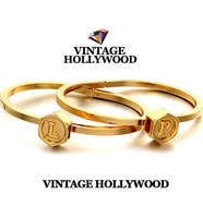 Bao style high quality ! vintage hollywood brief letter bracelet