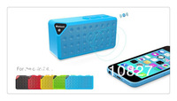 mini wireless bluetooth speaker x3 jambox style loudspeaker with FM radio TF card slot mp3 speaker
