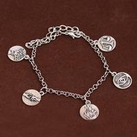 Wholesale Divergent  Dauntless Erudite Candor Amity Abnegation Pendant Bracelets