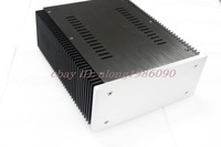 B2109 Full Aluminum Power amp Enclosure PSU chassis DAC case blank back