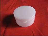 Free ship, 10g Plastic PE Ointment boxes Box Case cosmetic boxes DIY Small White Cream Box Bottle Empty Cosmetic Container
