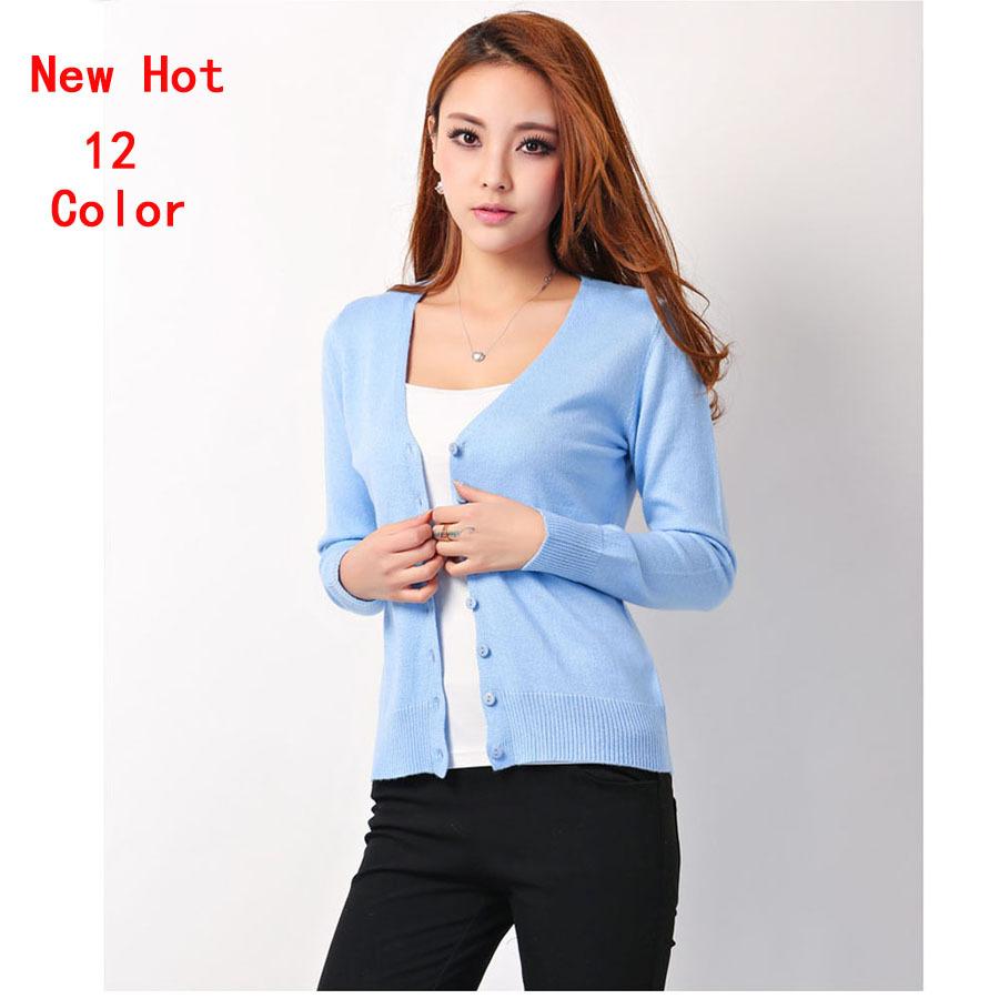2014 herbst winter mode hochwertige kaschmir-pullover frauen lange Ärmel Kleidung strickjacke gestrickt V- pullover 8608