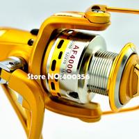 2014 Front brakes all-metal reel AF3000 grade 6BB 0.2-270 0.25-200 0.3-140 fishing vessel gear wheels spinning wheel factory