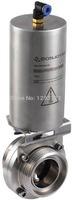 "3-1/2 "" SS 304 pneumatic  butterfly valve,clamp butterfly valve,Manual,Stainless steel butterfly valve,sanitary butterfly valve"