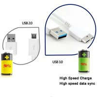 Micro 3.0 USB Power Data Sync Transfer Charger Cord Cable for Samsung Galaxy Note 3 III / Galaxy S5 / Galaxy Note Pro 12.2