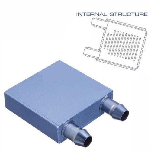 Alumínio água de resfriamento do dissipador de calor do bloco Waterblock líquido refrigerador novo para CPU GPU(China (Mainland))