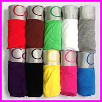Better quality 10 pcs Fashion Colorful Mens underwear Men Boxers Men's Boxer Shorts