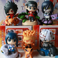 Hot 2014 new pvc Japanese anime Naruto mini figures toys Madara,Sasuke,Orochimaru, Kakashi,Hashirama 10CM collectible figurines