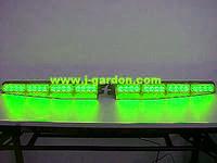 car light source Police fire Warning light Exclusive Split 1 Watt 32 LED Visor Deck Dash LightBar Green car styling Light Bar