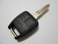 3 Buttons Remote Fob Case Cover Car Replaced Key Shell Blank Has Groove on Left of Blade For Opel